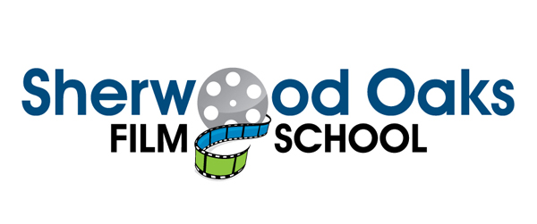 Sherwood Oaks Film School Logo Colored on white background